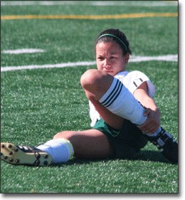 Soccer Injury woman